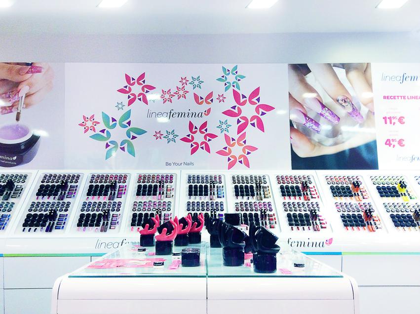 Le branding pour les cosmétiques Linea Femina Mons