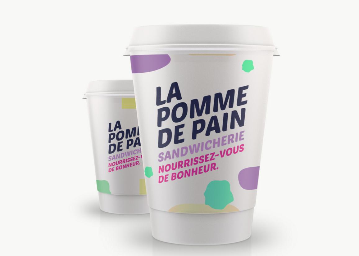 Créer une marque pour la sandwicherie La Pomme de Pain à Anderlues